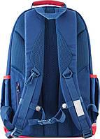 Рюкзак городской YES OX 335, синий, 30*48*14.5 код: 553987, фото 4
