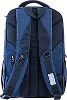 Рюкзак городской YES OX 194, синий, 28.5*44.5*13.5 код: 553997, фото 4