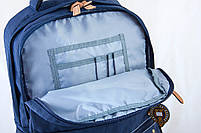 Рюкзак городской YES OX 194, синий, 28.5*44.5*13.5 код: 553997, фото 5
