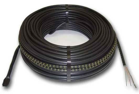 Теплый пол Hemstedt DR12,5 двужильный кабель, 1350W, 9 м2