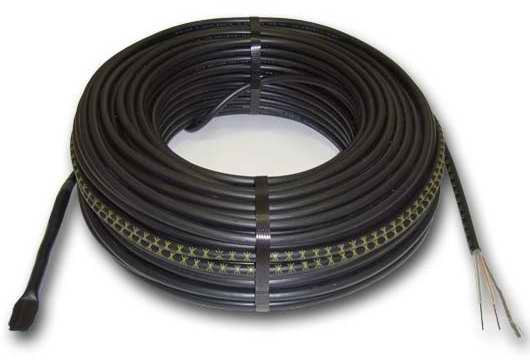 Теплый пол Hemstedt DR12,5 двужильный кабель, 1800W, 12 м2