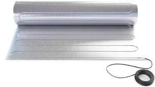 Теплый пол алюминиевый нагревательный мат Fenix 1.0 кв.м 140W комплект(5543000)