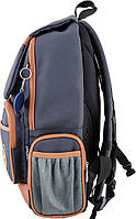 Рюкзак подростковый YES OX 293, серый, 28.5*44.5*12.5 код: 553999, фото 3