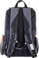 Рюкзак подростковый YES OX 293, серый, 28.5*44.5*12.5 код: 553999, фото 4