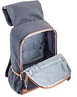 Рюкзак подростковый YES OX 293, серый, 28.5*44.5*12.5 код: 553999, фото 5