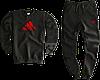 Трикотажный костюм Carhartt (Premium-class) черный, фото 2