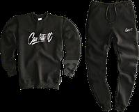 Трикотажный костюм Carhartt (Premium-class) черный