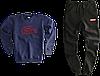 Трикотажный костюм Carhartt (Premium-class) черный, фото 4