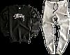 Трикотажный костюм Carhartt (Premium-class) черный, фото 7
