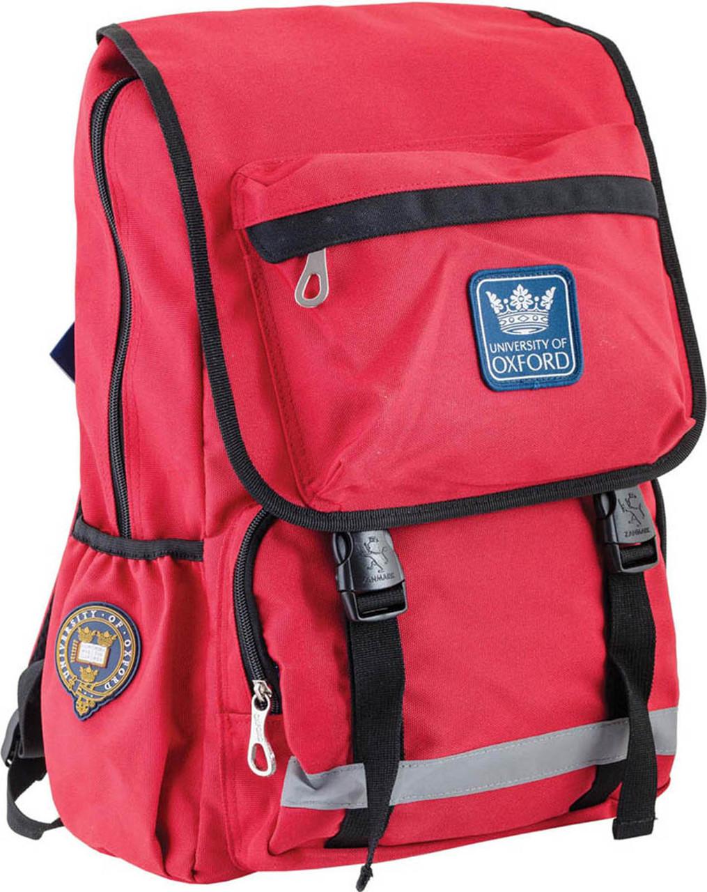Рюкзак подростковый YES OX 228, красный, 30*45*15 код: 554032
