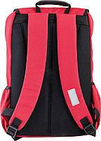 Рюкзак подростковый YES OX 228, красный, 30*45*15 код: 554032, фото 4