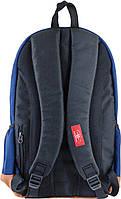 Рюкзак городской YES CA 083, синий, 29*47*17 код: 554041, фото 4