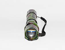 Ручной мощный фонарик с регулировкой фокуса BL-T8627, фото 3