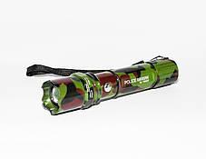 Ручной мощный фонарик с регулировкой фокуса BL-T8627, фото 2