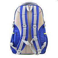 Рюкзак городской YES OX 312, синий, 31.5*47*13 код: 554077, фото 3