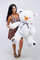 Мягкая игрушка большой плюшевый белый мишка 130см