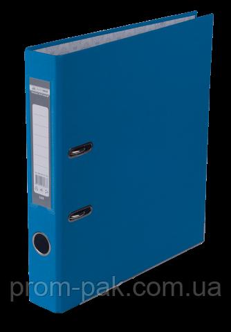 Реєстратор одност. JOBMAX А4, 50мм PP, т.синій, збірний