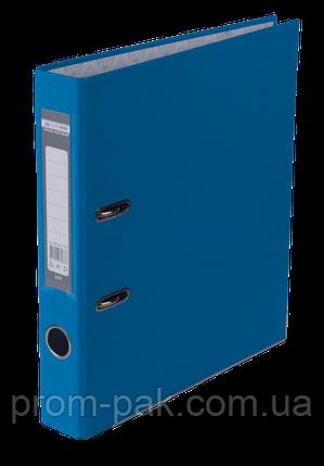 Реєстратор одност. JOBMAX А4, 50мм PP, т.синій, збірний, фото 2