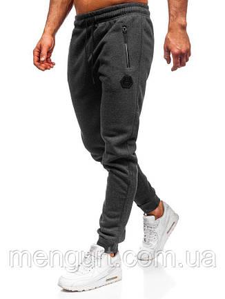 Штани спортивні молодіжні чоловічі на манжеті Польща, фото 2
