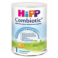 Смесь молочная сухая Combiotic 1 0м+ 750г Hipp Германия 2450