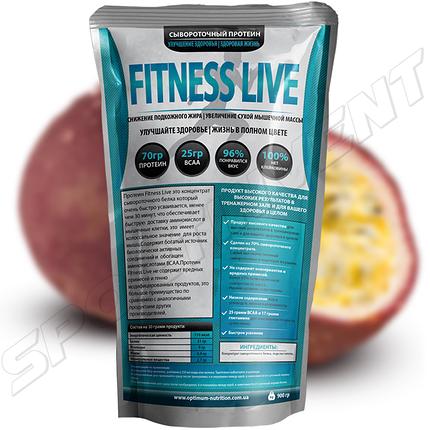 Протеин Fitness Live 900 г, маракуйя, фото 2