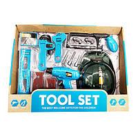 Набор детских инструментов в коробке