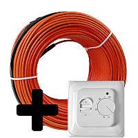 Теплый пол Volterm HR12 двужильный кабель, 230W, 1,5-1,9 м2(HR12 230), фото 1