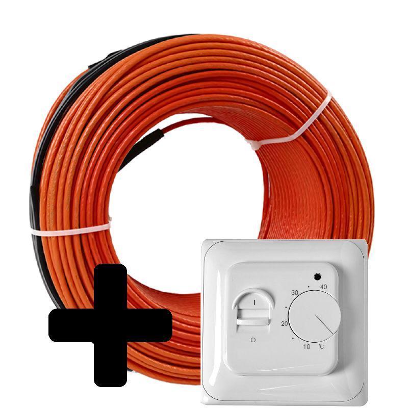 Теплый пол Volterm HR12 двужильный кабель, 400W, 2,6-3,3 м2(HR12 400)