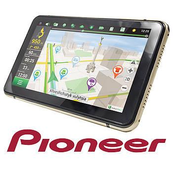 """GPS навигатор 7"""" Pioneer ZT502 видеорегистратор TFT экран 8 Gb microSD AUX Android 4.4 Navitel"""