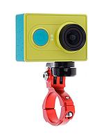 Крепление на руль велосипеда для экшен-камеры Xiaomi, на трубу от 3 см до 3,8 см., фото 1