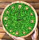 Часы настенные из дерева и Норвежского мха (40 см). Настольные часы., фото 4