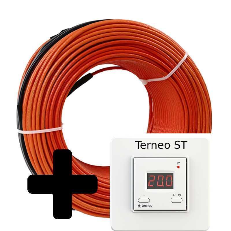 Теплый пол Volterm HR12 двужильный кабель, 1400W, 9,2-11.5 м2(HR12 1400)
