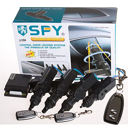 Центральный замок комплект ц/з SPY/LL103A/906B&LT158-2 с пультом