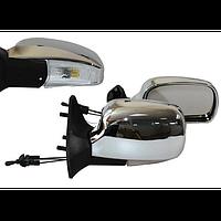Зеркало боковое ЗБ 3107П LADA 04,05,07 CHROME LED хром пов, 2шт. в комплекте