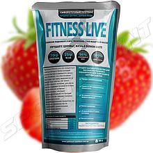 Протеин Fitness Live 900 г, клубника