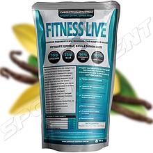 Протеин Fitness Live 900 г, ваниль