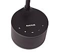 Розумна лампа MAXUS DKL Sound 8W (звук, USB, діммінг, температура) чорна, фото 5