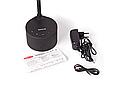 Розумна лампа MAXUS DKL Sound 8W (звук, USB, діммінг, температура) чорна, фото 4