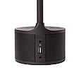 Розумна лампа MAXUS DKL Sound 8W (звук, USB, діммінг, температура) чорна, фото 6
