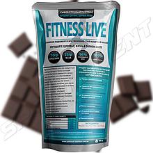 Протеин Fitness Live 900 г, шоколад