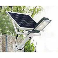 Уличный Светодиодный LED Фонарь, светильник JW-28 с солнечной панелью -120 Ватт. Водонепроницаемый