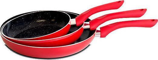 Набор сковородок Royalty Line RED RL-PM3 3 pcs