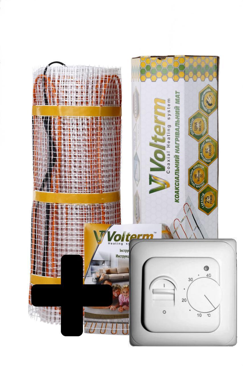 Теплый пол нагревательный мат Volterm Classic Mat 1.0 кв.м 140W комплект(Classic Mat 140)