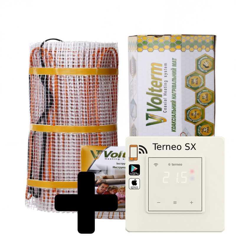 Теплый пол нагревательный мат Volterm Classic Mat 9.7 кв.м 1400W комплект(Classic Mat 1400)