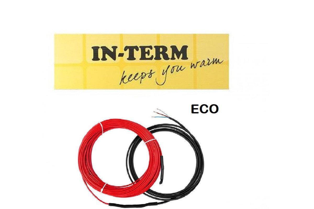 Теплый пол IN-THERM ECO PDSV 20 двужильный кабель, 1300W, 6,4-8 м2
