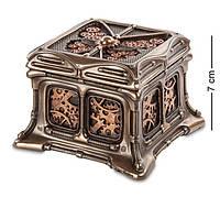 Шкатулка декоративная Veronese в стиле Стимпанк WS-383