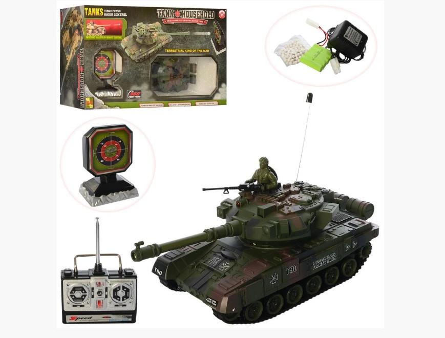 Игровой набор - танк с мишенью YH4101D