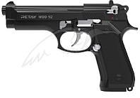 Пістолет стартовий Retay Mod.92 кал. 9 мм. Колір - black / nickel