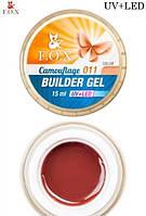 Камуфлирующий гель F.O.X Cover (camouflage) BUILDER GEL - 011, красный УЦЕНКА!