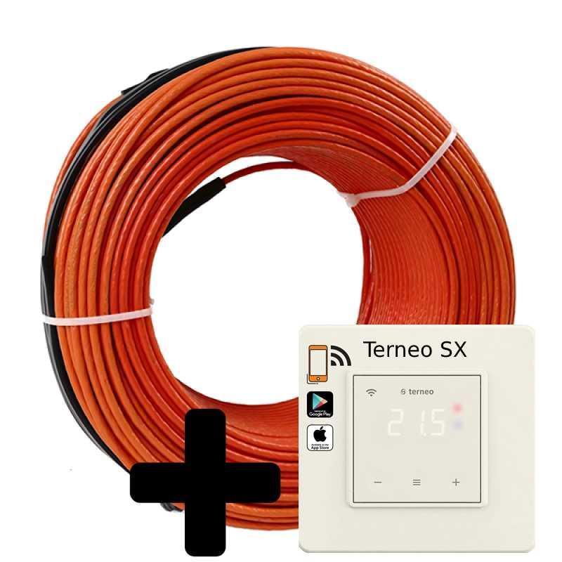 Теплый пол Volterm HR18 двужильный кабель, 3300W, 18.5-23 м2(HR18 3300)